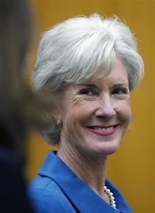 Kansas Gov. Kathleen Sebelius