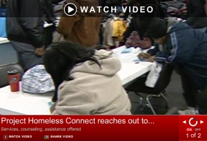 hchn project homeless connect video