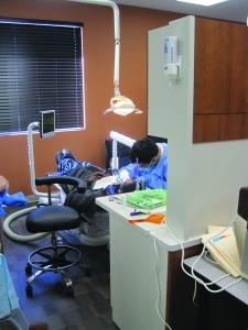 Dental operatory at Family Health Center