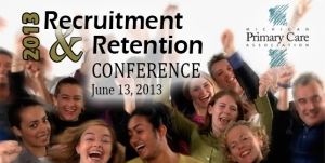 2013 recruitment and retention conference branding image