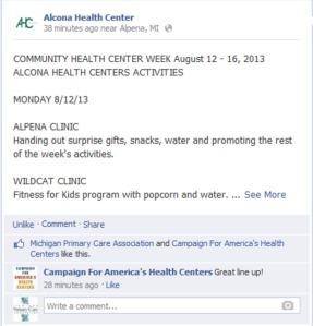 alcona FB page