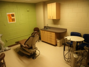 White Cloud Child and Adolescent Health Center dental operatory