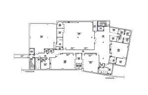 Basement floor plans for FHC's new Women's Health Facility